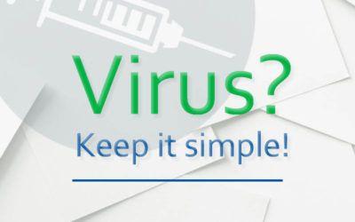 Virussen gaan onzichtbaar rond, maak infectieprotocollen wel zichtbaar